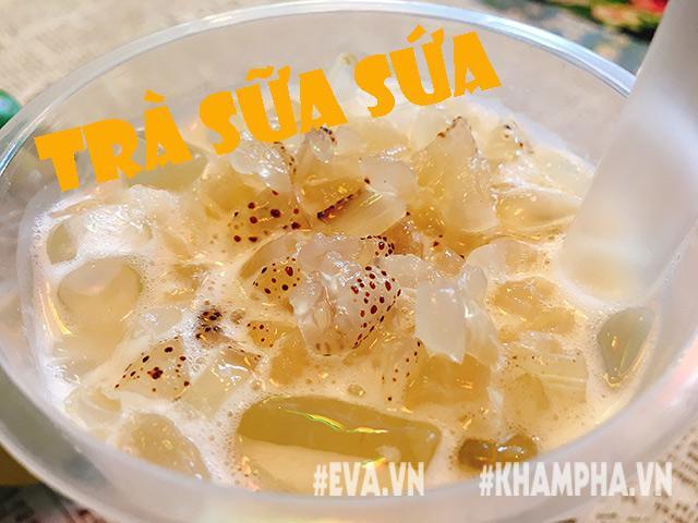 """Không phải trân châu – trà sữa bây giờ uống kèm với sứa biển mới đúng """"mốt"""" ở Sài Gòn"""