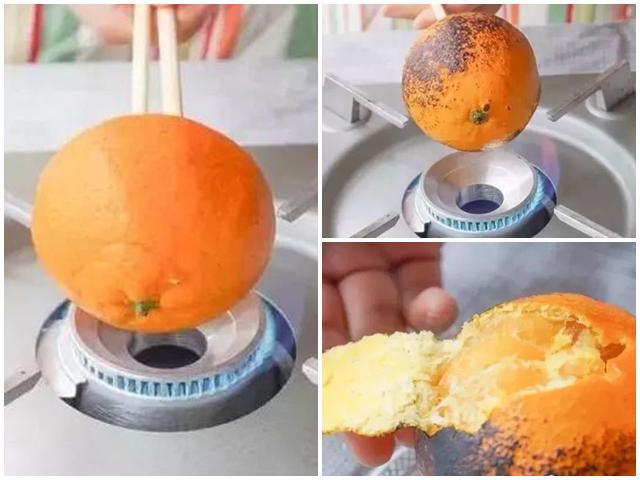 Mách mẹ cách trị ho cho trẻ bằng nước vỏ cam nướng trong ngày lạnh