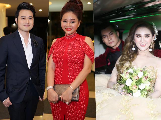 Đám cưới Lâm Khánh Chi tại Sài Gòn: Quang Vinh bảnh bao, Lê Giang xuất hiện sau lùm xùm