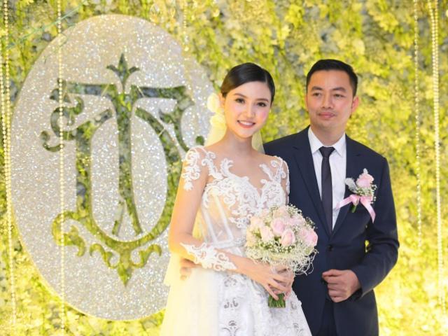Đám cưới lộng lẫy của người đẹp Ngọc Duyên cùng ông xã hơn 18 tuổi tại Hà Nội