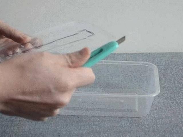 Hộp nhựa dùng một lần có thể tái chế thành những thứ dùng