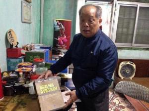 """Cải tiến """"tiếw Việt"""" của PGS Bùi Hiền được cấp giấy chứng nhận bản quyền"""