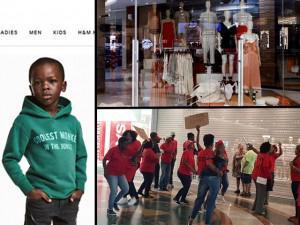 Dù người mẹ tỏ ra bình thường, loạt store H&M Nam Phi vẫn bị người dân phản đối nặng nề!