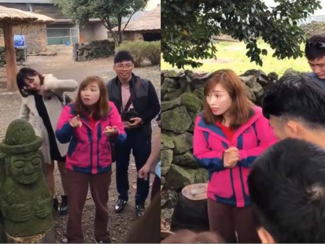 Nữ hướng dẫn viên du lịch Hàn Quốc gắt nhất mạng xã hội làm người xem cười bò