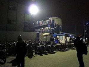 Hà Nội: Sập giàn giáo lúc rạng sáng, 3 người tử vong, 3 người bị thương nặng