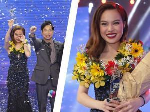 Giang Hồng Ngọc một lần nữa trong đời đoạt ngôi vô địch khi đăng quang Cặp đôi hoàn hảo