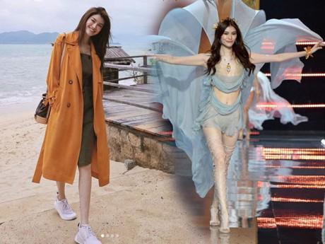 Chân dài Victoria's Secret âm thầm lặng lẽ khoe street style tại Nha Trang