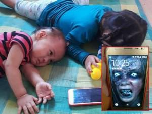 Con khóc lóc đòi chơi điện thoại, mẹ dùng chiêu này khiến bé lập tức tránh xa