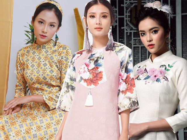 Hoa mắt với quá nhiều mẫu áo dài, cuối cùng cũng tìm ra 4 kiểu đẹp và nổi nhất!