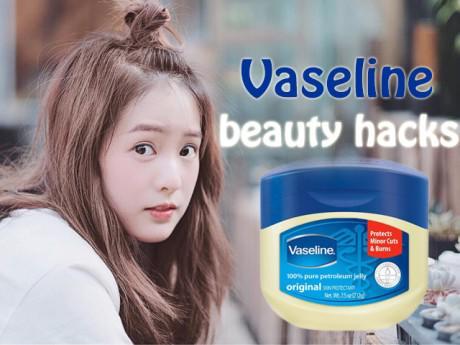 """10 công dụng làm đẹp của Vaseline khiến bạn nhất định phải tậu ngay một """"em""""!"""