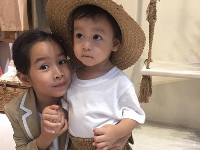 Hình ảnh hiếm hoi rõ mặt con gái thứ 2 của vợ chồng Lưu Hương Giang - Hồ Hoài Anh