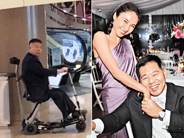 Ngưỡng mộ hình ảnh chồng Lê Tư ngồi xe lăn vẫn đưa vợ đi mua sắm