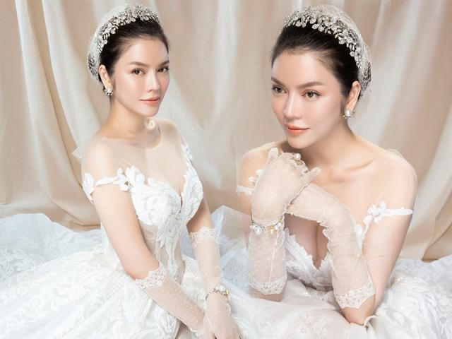 Lý Nhã Kỳ bất ngờ tung ảnh cô dâu đẹp như tiên nữ mùa xuân