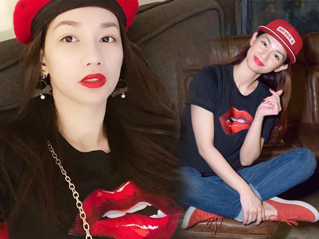 Liên tục mặc lại đồ cũ, nhưng không ai chê được style của bà mẹ 1 con Quỳnh Chi