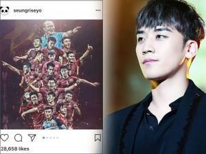 U23 Việt Nam hẳn rất vui khi thần tượng Big Bang cũng gửi lời chúc mừng toàn đội