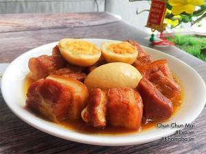 Thịt kho hột vịt đơn giản, dễ làm, mềm ngon cho ngày Tết miền Nam