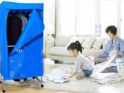 Nhà đẹp - Mẹo chọn và sử dụng tủ sấy quần áo an toàn tiết kiệm cho chị em nhàn tênh