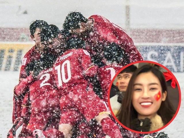 HH Đỗ Mỹ Linh lần đầu chia sẻ về việc âm thầm sang Trung Quốc cổ vũ U23 Việt Nam