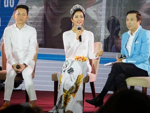 Hoa hậu HHen Niê sẵn sàng chụp hình không cát-xê để giúp đỡ người nghèo, bệnh nhân HIV