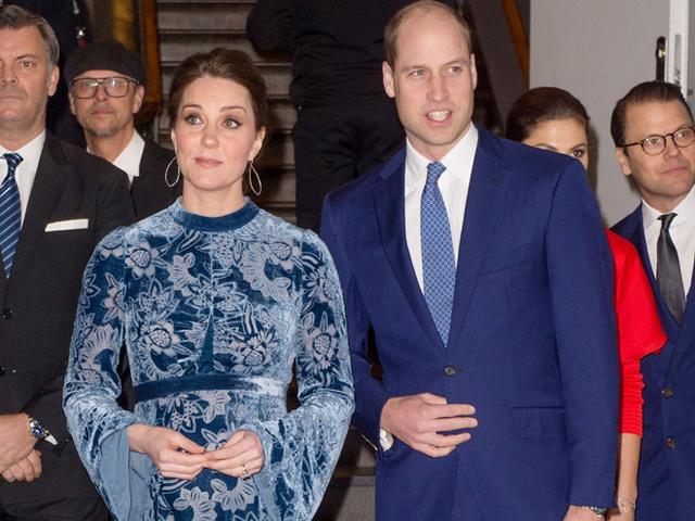 Bầu bí ngày càng lộ, công nương Kate Middleton bất ngờ bị chê xấu