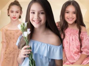 Bông hồng lai nhí mang hai dòng máu Việt - Mỹ cùng mơ ước trở thành Hoa hậu Hoàn vũ