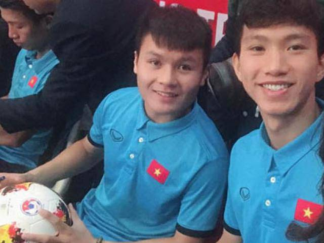 Em út U23 Văn Hậu ỏn ẻn:Mẫu người yêu của em giống như anh Quang Hải