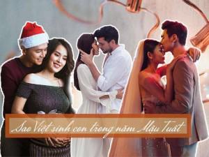 """Năm Mậu Tuất, những gia đình sao Việt này sẽ đón """"tiểu thiên thần"""" chào đời!"""