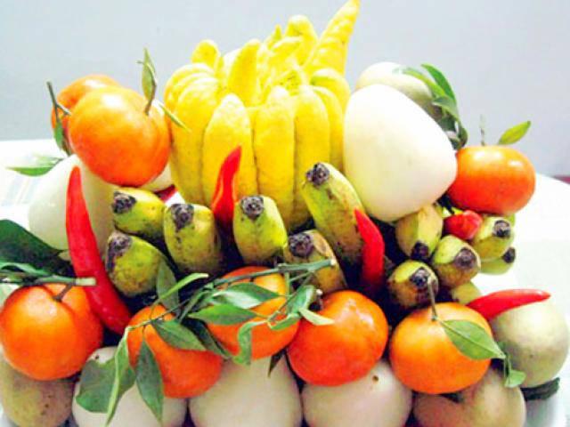 Tại sao người Việt lại dùng quả phật thủ trưng trong ngày Tết?