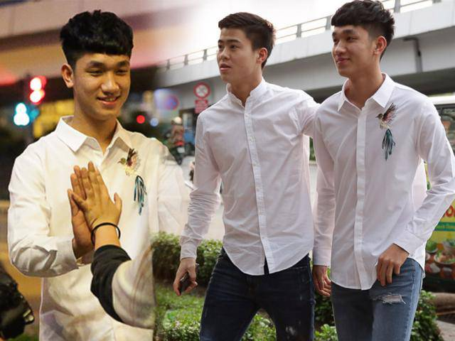 Độc quyền: Bắt gặp 2 trai đẹp đội tuyển U23 Việt Nam dạo phố Sài Gòn
