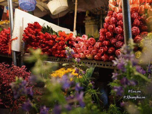 Ghé chợ Quảng An ngắm hoa ngậm sương, cảm nhận một Hà Nội đêm rất khác