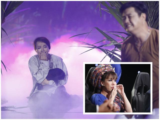 Danh hài Việt Hương khóc nức nở kể chuyện mang thai cùng lúc với Lý Thanh Thảo