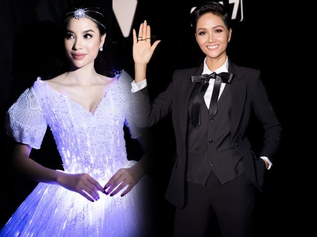 Phạm Hương diện váy phát sáng, làm công chúa xinh đẹp của Hoa hậu H' Hen Niê