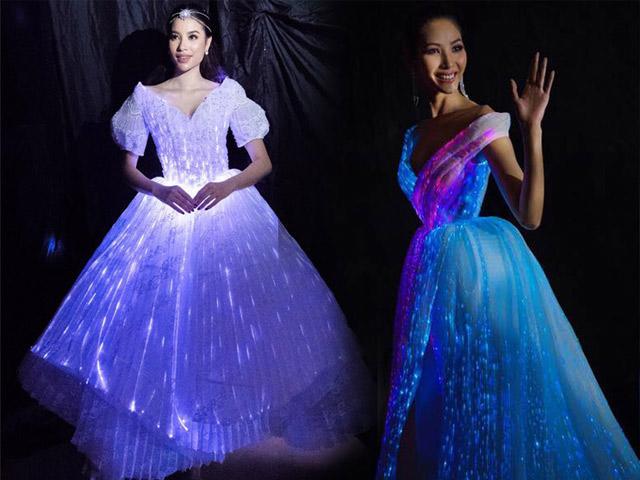 Giải mã váy phát sáng đỉnh nhất năm của Phạm Hương, Hoàng Thuỳ, Angela Phương Trinh