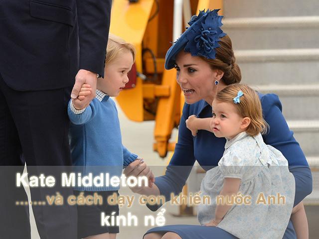 Kate Middleton - bà mẹ quý tộc sẵn sàng ngồi xuống đòi một đứa trẻ trả đồ chơi cho con