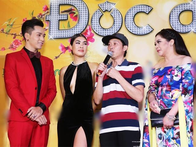 Mặc áo thun đi tông đến sự kiện công chiếu phim Tết, Hoài Linh xin lỗi vì quá xuề xoà