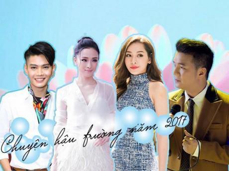 Nhìn lại Top chuyện hậu trường gây xôn xao của showbiz Việt trong năm 2017