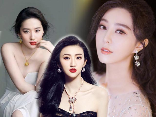 Bất ngờ khi mỹ nhân đẹp nhất Trung Quốc không phải Phạm Băng Băng hay Lưu Diệc Phi