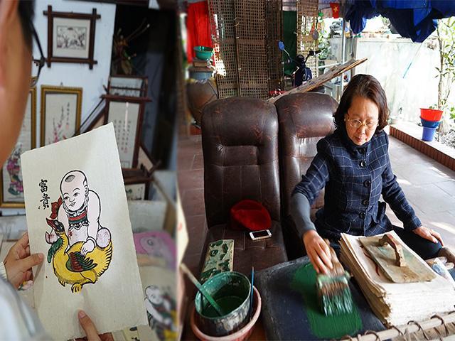 Làng tranh Đông Hồ: Một thời vang bóng giờ vắng khách đi về