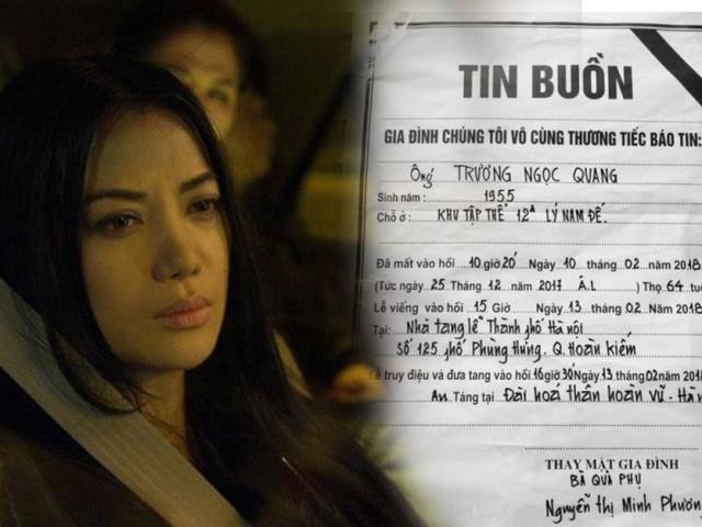 Nhiều sao Việt gửi lời chia buồn khi nghe tin bố Trương Ngọc Ánh qua đời