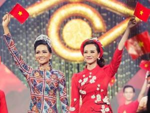 Được H'Hen Niê bất ngờ giúp, Kiều Ngân ghi danh Hoa hậu đầu tiên đăng quang Én Vàng