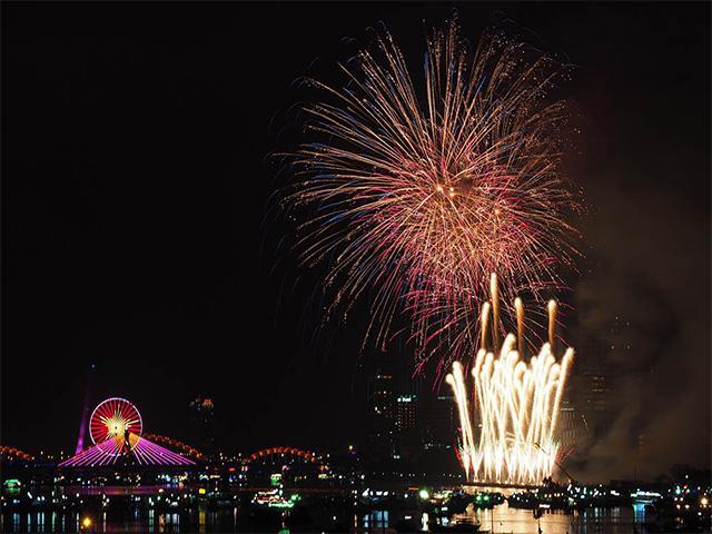 Đi đâu xem pháo hoa dịp Tết Nguyên Đán 2018 tại Đà Nẵng?
