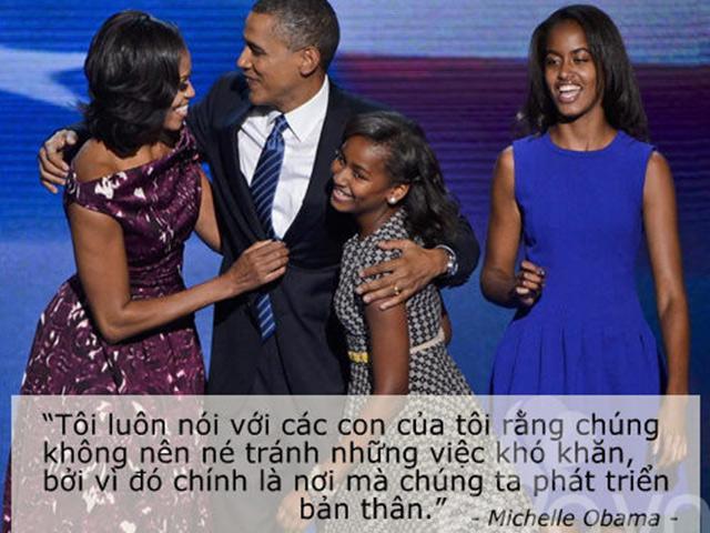 Nguyên tắc về cách dạy con của vợ chồng cựu tổng thống Obama khiến cả thế giới