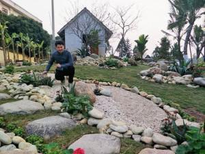 Sao Việt rộn ràng đón Tết, người khoe vườn, người khoe nhà ngập sắc hoa xuân
