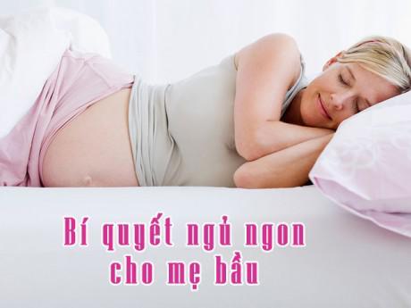 Mất ngủ, khó ngủ khi mang thai, mẹ bầu hãy áp dụng ngay 5 bí quyết này!