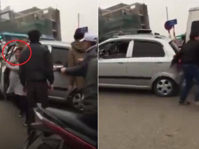 Người phụ nữ cầm lái ô tô và sự cố khiến cả phố rối loạn trong ngày cận Tết
