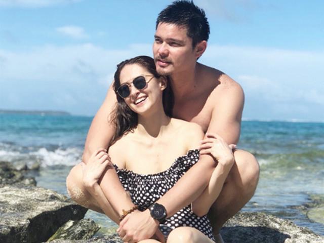 Vợ chồng mỹ nhân đẹp nhất Philippines Marian Rivera trốn con đi hẹn hò dịp 14/2
