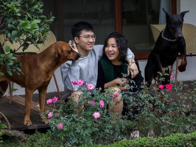 Con trai 19 tuổi có bạn gái, diva Mỹ Linh chỉ biết tủm tỉm cười trước tình yêu của con