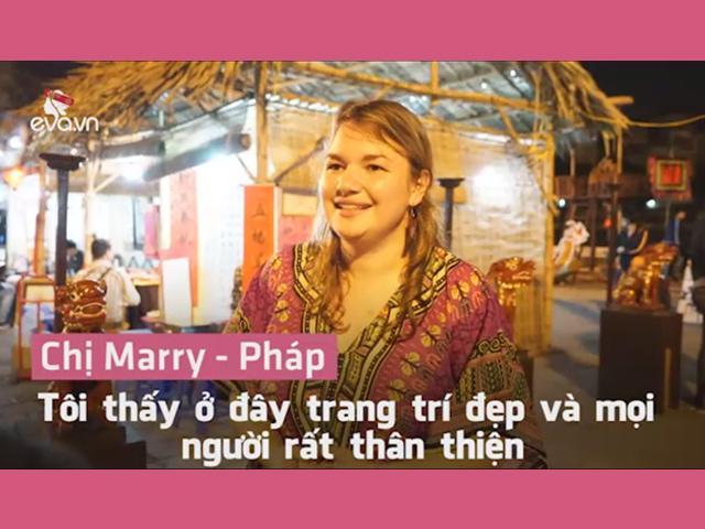 Phỏng vấn nhanh: Cảm nhận khách nước ngoài về Tết Việt Nam