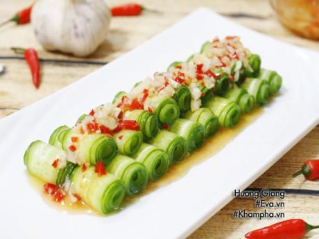 Salad dưa chuột chua cay giòn ngon dễ ăn