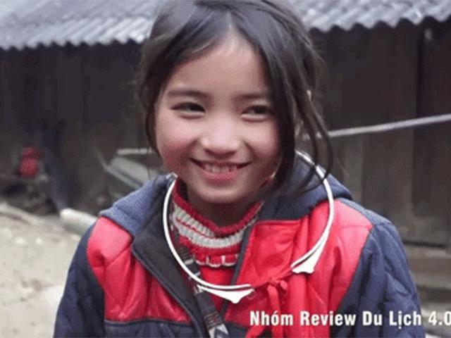 Bé gái dân tộc H'Mông với nụ cười tỏa nắng gây chú ý khắp mạng xã hội Việt